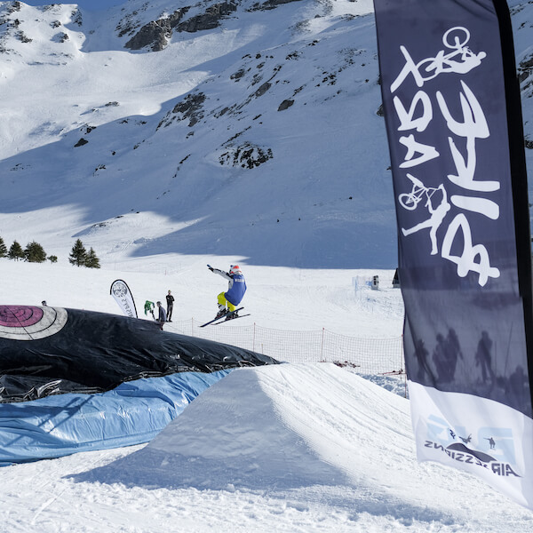 saut ski big air bag