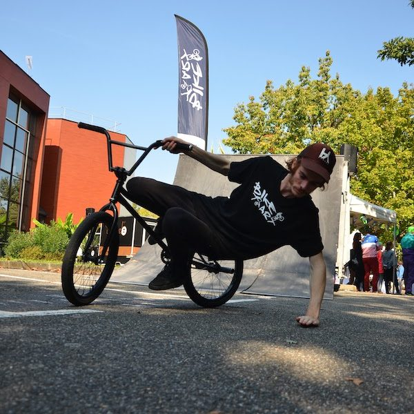 Demonstration BMX flat Toulouse