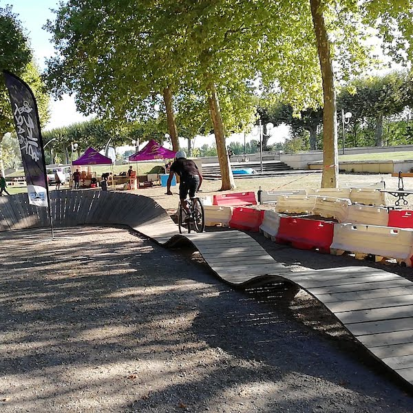 vtt freestyle pumptrack