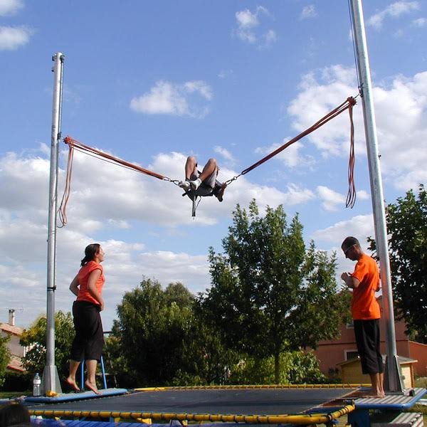 trampoline elastique toulouse